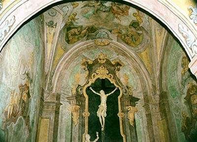 Karel Hrubeš, restaurovaná kaple Vzkříšení v kostele sv. Víta v Českém Krumlově