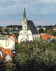 Kostel sv. Víta ve městě Český Krumlov , foto: Lubor Mrázek