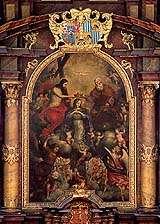 Kostel sv. Víta v Českém Krumlově, hlavní oltář, foto: Libor Sváček