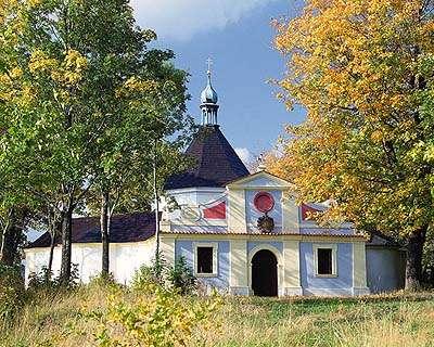Kaple na Křížové hoře ve městě Český Krumlov, foto: Libor Sváček