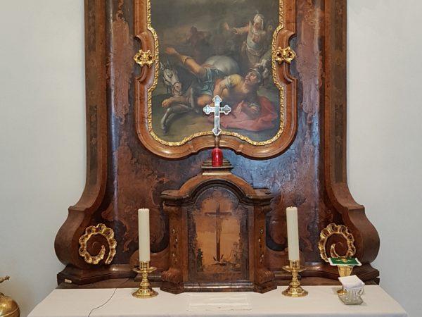 Obnovujeme živé vysílání mší svatých z farní kaple