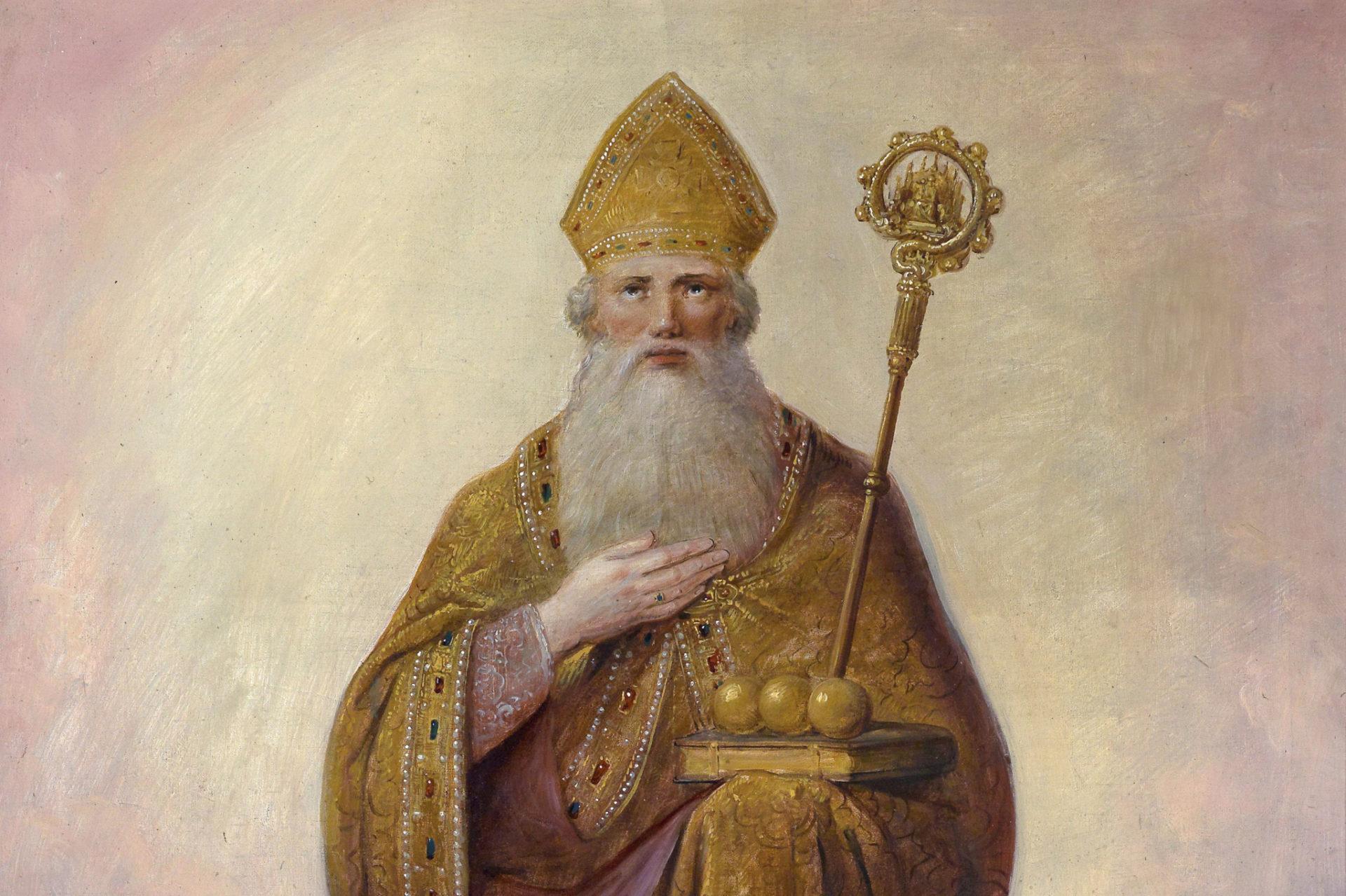 Setkání se svatým biskupem Mikulášem v Kájově